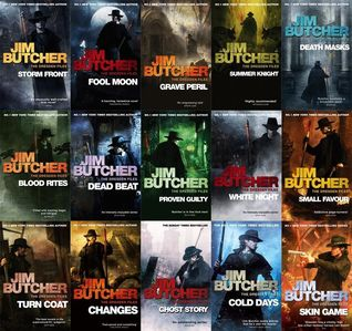 The Dresden Files Series Set (Dresden Files, #1-12)