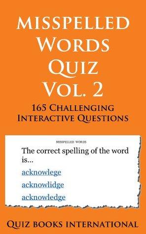 Misspelled Words Quiz Vol. 2