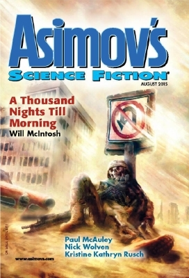 Asimov's Science Fiction, August 2015