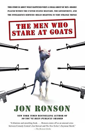 Image result for the men who stare at goats book