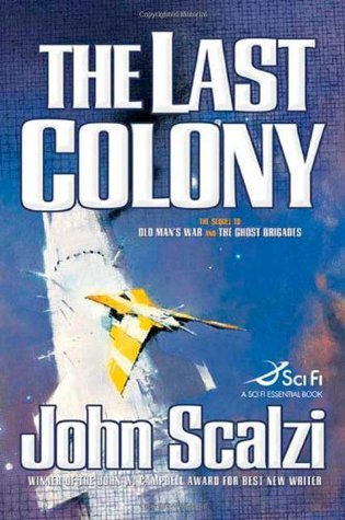 The Last Colony Book Cover
