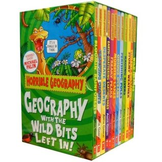Horrible Geography Pack 10 books Collection RRP £59.90 (Rainforests, Cracking Coasts, Deserts, Earthquakes, Freaky Peaks, Monster Lakes, Odious Oceans, Raging Rivers, Stormy Weather, Violent Volcanoes) (Horrible Geography)