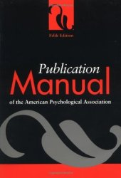 Publication Manual of the American Psychological Association Pdf Book