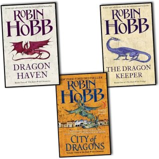 Robin Hobb Trilogy 3 Books Set Pack The Rain Wild Chronicles Collection