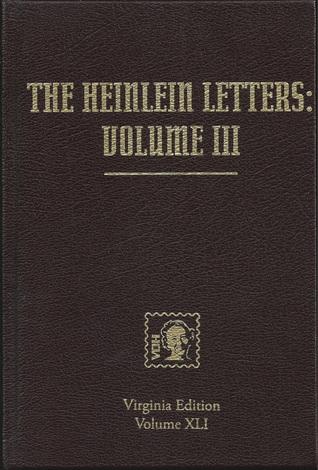 The Heinlein Letters: Volume 3