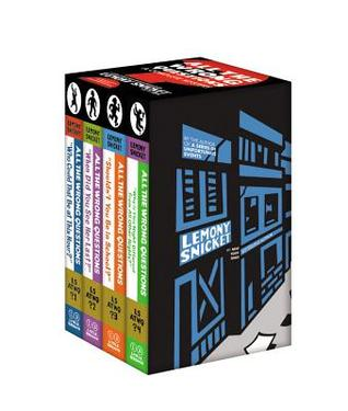 All the Wrong Questions: A Complete Mystery Gift Set (All the Wrong Questions, #1-4)