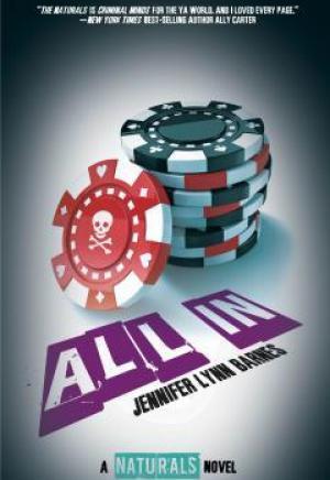 Book cover of All In by Jennifer Lynn Barnes