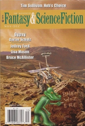 The Magazine of Fantasy & Science Fiction, November/December 2015 (The Magazine of Fantasy & Science Fiction, #722)