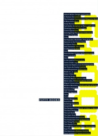 Fifty Books, Fifty Covers 2014