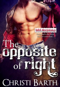 The Opposite of Right cover