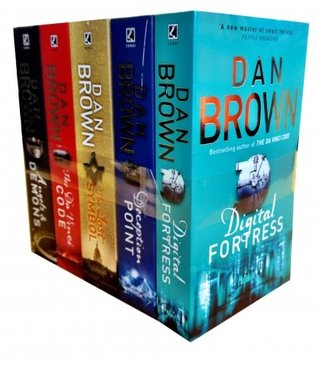 Dan Brown 5 Books Collection Set: The Lost Symbol, Digital Fortress, Angel & Demons, Deception Point, The Davinci Code
