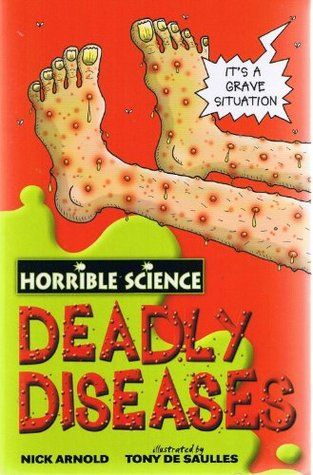 Horrible Science: 4 book collection: Ugly Bugs, Nasty Nature, Disgusting Digestion and Deadly Diseases rrp £19.96