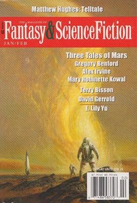 The Magazine of Fantasy & Science Fiction, January/February 2016 (The Magazine of Fantasy & Science Fiction, #723)
