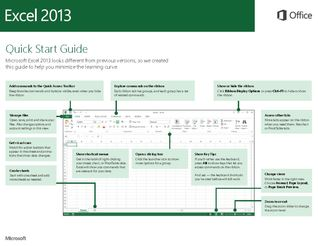 Excel 2013 - Quick Start Guide