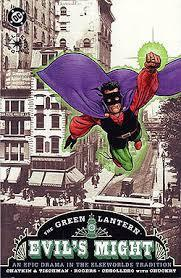 The Green Lantern: Evil's Might