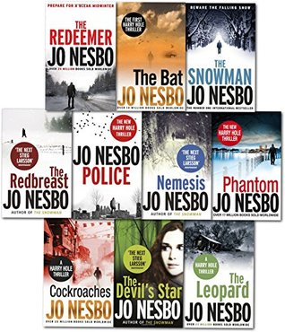 Jo Nesbø Harry Hole Thriller Collection (10 Book Set)