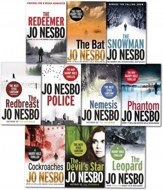 Jo Nesbo A Harry Hole Mystery 9 Books Collection Pack Set