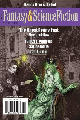 Magazine of Fantasy & Science Fiction, March/April 2016 (The Magazine of Fantasy & Science Fiction, #724)
