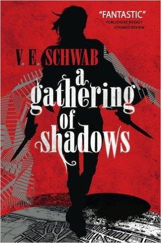Recensie: A gathering of shadows van V.E. Schwab