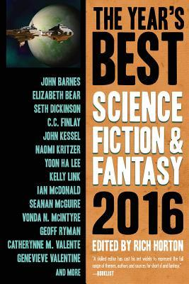 The Year's Best Science Fiction & Fantasy, 2016