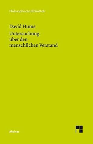Eine Untersuchung über den menschlichen Verstand: Mit einem Nachtrag zur Bibliographie (Philosophische Bibliothek 648)
