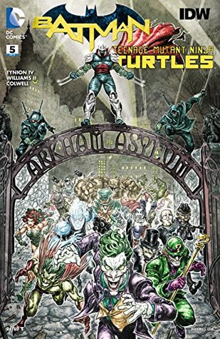 Batman/Teenage Mutant Ninja Turtles #5