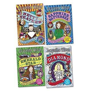 Hetty Feather Pack, 4 books, RRP £27.96 (Diamond; Emerald Star; Hetty Feather; Sapphire Battersea).