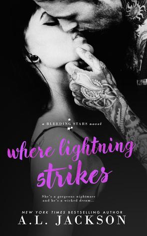Where Lightning Strikes (Bleeding Stars, #3)