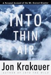 Into Thin Air: A Personal Account of the Mount Everest Disaster Pdf Book