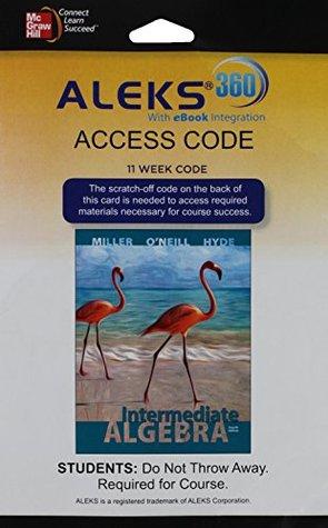 Aleks 360 Access Card (11 Weeks) for Intermediate Algebra