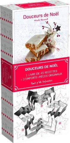 Coffret douceurs de Noël : 1 livre de 45 recettes + 3 emporte-pièces originaux