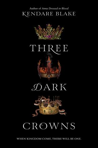 Recensie: Three dark crowns van Kendare Blake