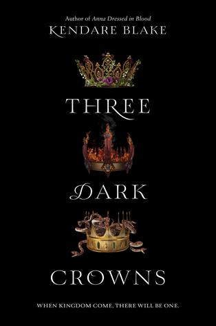 Recensie: Three dark crowns van Kendare Blake