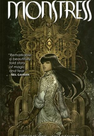 #Printcess review of Monstress by Marjorie M. Liu