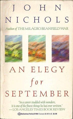 Image result for elegy for september book