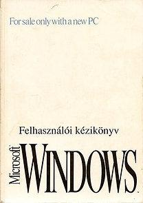 Felhasználói kézikönyv Microsoft Windows 3.1