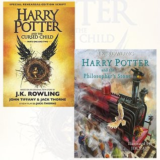 Harry Potter and the Cursed Child, Parts 1 & 2 and Harry Potter and the Philosopher's Stone 2 Books Bundle Collection (Harry Potter #1&8)