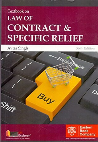 Textbook on Law Of Contract & Specific Relief