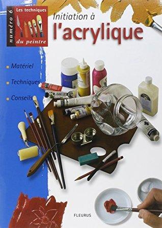 Initiation à l'acrylique