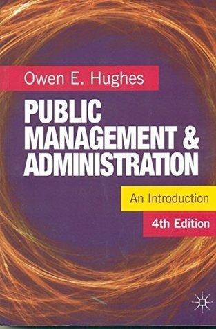 Public Management & Administration An Introduction