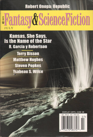 Fantasy & Science Fiction, July 2006 (The Magazine of Fantasy & Science Fiction, #652)