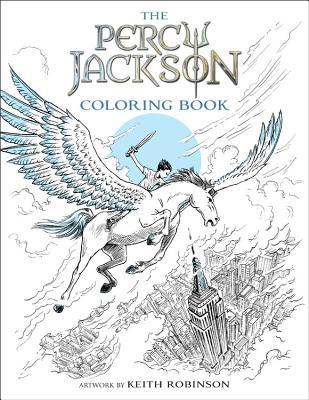 Percy Jackson and the Olympians The Percy Jackson Coloring Book
