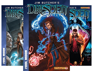 Jim Butcher's The Dresden Files: Fool Moon (Issues) (8 Book Series)
