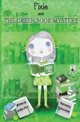 Pixie and the Green Book Mystery - Grayscale Illustrations