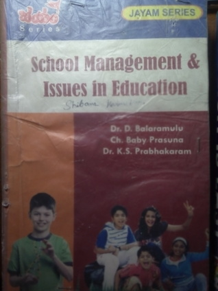 School Management &  Issues in Education