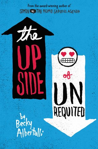 #Printcess review of The Upside of Unrequited by Becky Albertalli