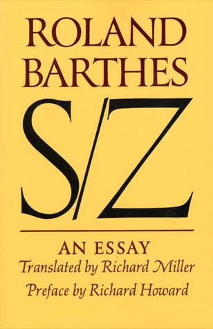 S/Z: An Essay