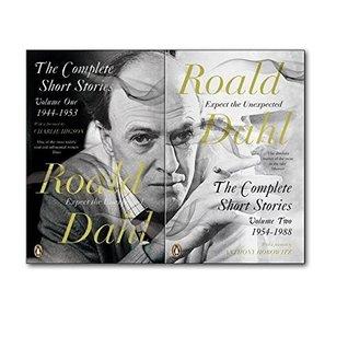 Roald Dahl The Complete Short Stories Collection Volume one and Volume two. (The complete short stories volume one 1944- 1953 and The Complete short stories volume 1954-1988)