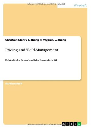 Pricing and Yield-Management