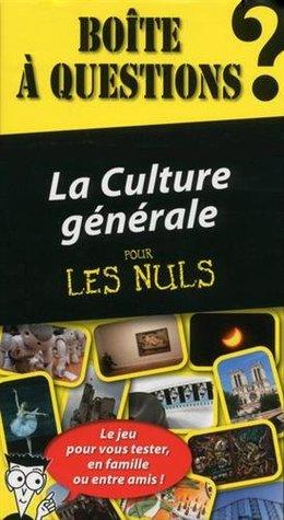 Coffret - La culture générale pour les Nuls: Le jeu pour vous tester, en famille ou entre amis ! • Boîte à questions